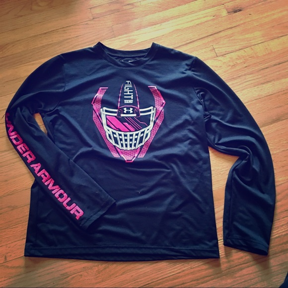 7def68111 UnderArmour Football Breast Cancer HeatGear. M 5aad9d323316276bd552a01a